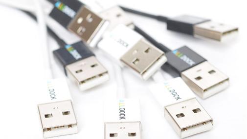 Micro USB-Kabel ALLDOCK black