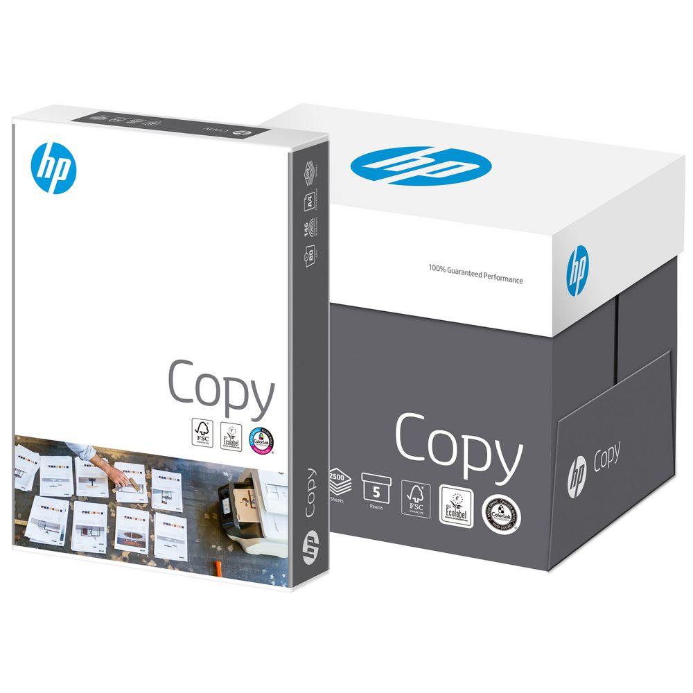 Druckerpapier, Kopierpapier weiß A4 80g/m² mit ColorLok-Technologie, 2500 Blatt von HP Hewlett Packa