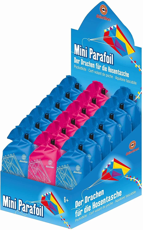 Paul Günther 2149 - Einleinerdrachen Mini Parafoil, Sonstiges Kleinkindspielzeug, Sortiert