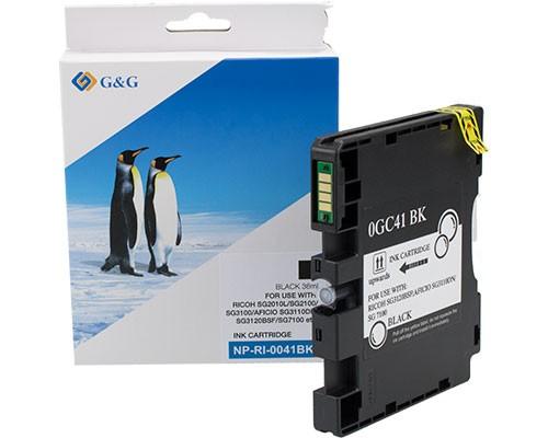 G&G Druckerpatrone kompatibel zu Ricoh GC41KL Schwarz