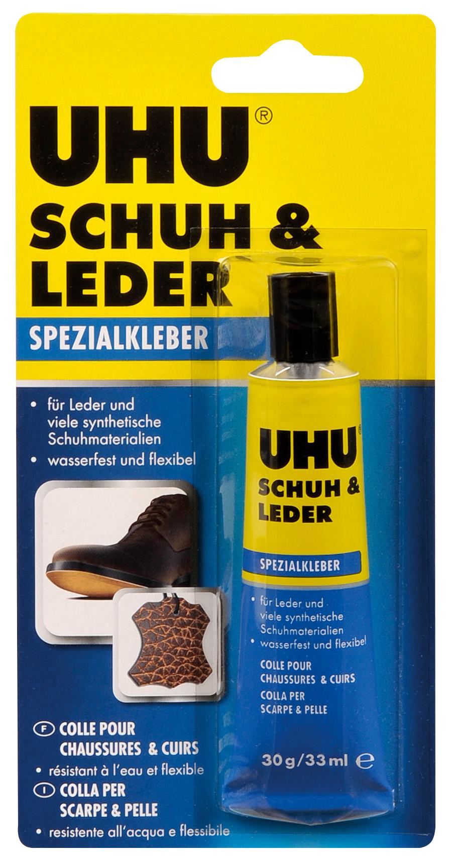 UHU SCHUH & LEDER 30g Tube Spezialkleber 46680