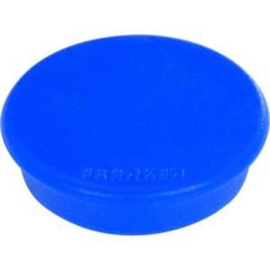 10 Stück Franken Magnete, 24 mm, 300g, blau