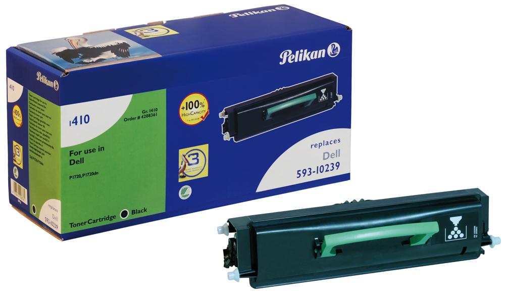 Pelikan Toner 1410 HC komp. zu 593-10239 Dell P1720 black