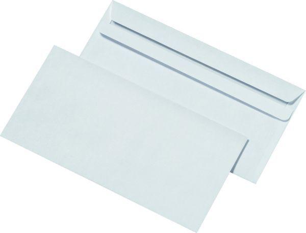 Elepa - rössler kuvert Briefumschläge DIN lang (220x110 mm), ohne Fenster, selbstklebend, 72 g/qm, 1