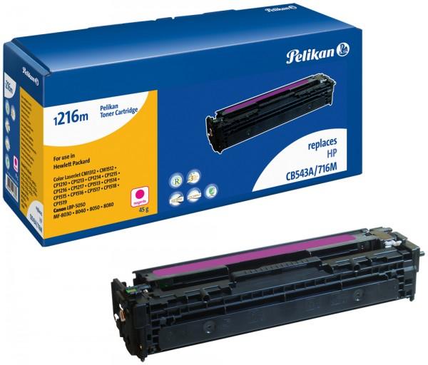 Pelikan Toner 1216 komp. zu CB543A HP LaserJet CP1215 magenta