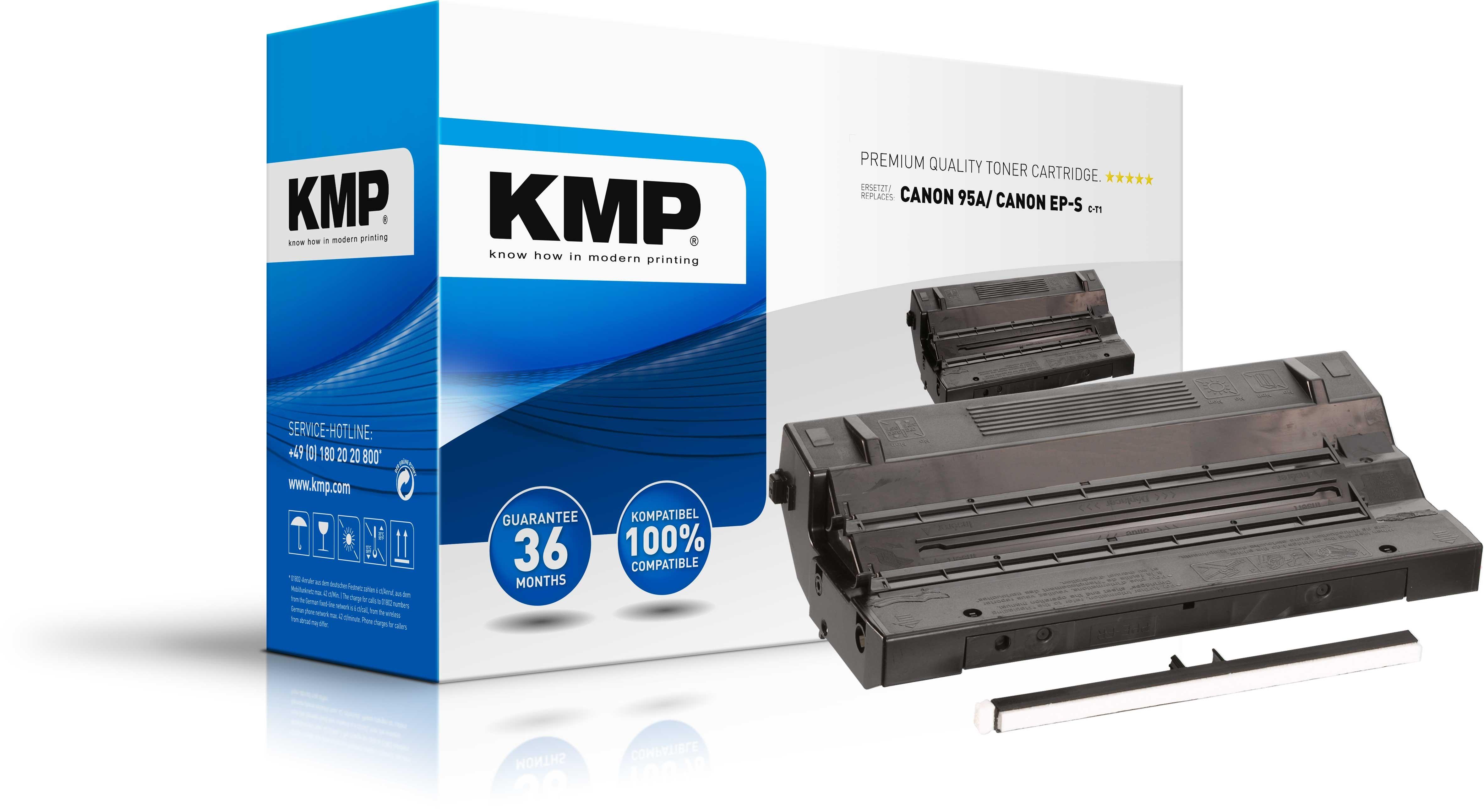 KMP Toner für HP 92295A Laserjet II / IIID Canon LBP 8 II/IID/II