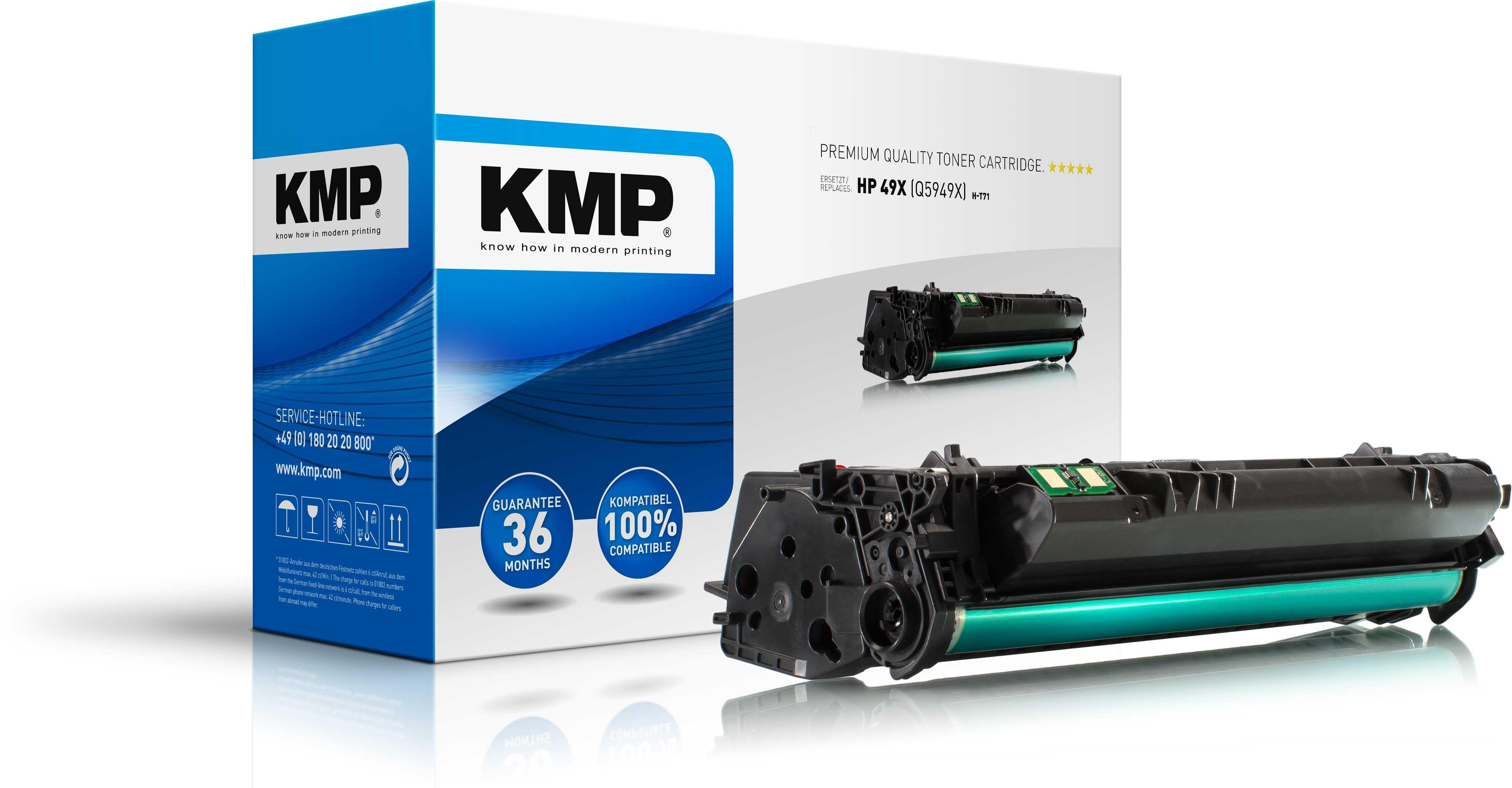 Vorschau: KMP Toner für HP Q5949x Laserjet 1320 Series schwarz High Capaci