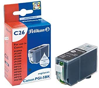 Pelikan Tintenpatrone ersetzt Canon CLI-571BK XL, Black, 5565 Seiten