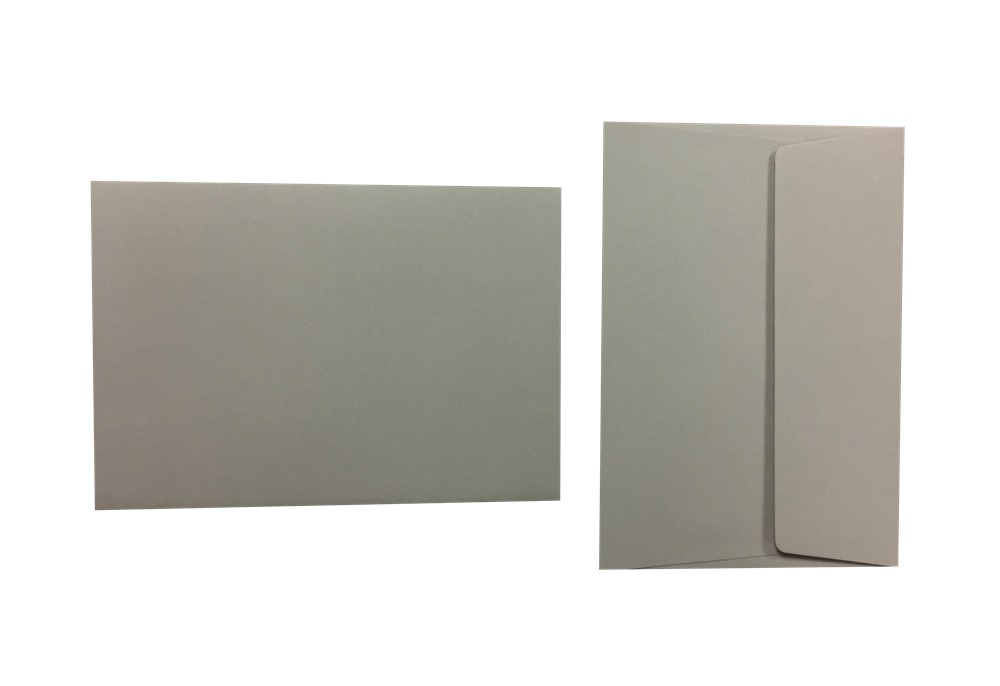 Pop'Set Umschläge C6 taubengrau 120g/m² 500 Stück