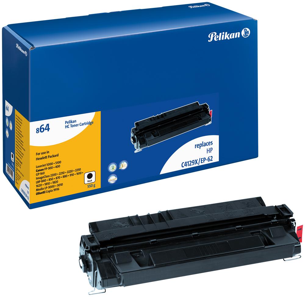 Pelikan Toner 864 komp. zu C4129X HP LaserJet 5000 black