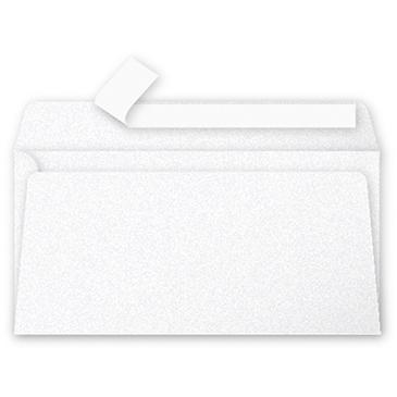 Clairefontaine Pollen Umschläge DIN-Lang Perlmutt-Weiß 120g/m² 20 Stück