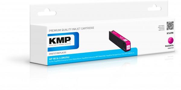 KMP Patrone H169M für (J3M69A) HP 981A HP PageWide Enterprise Color 550 Series HP PageWide Enterpris
