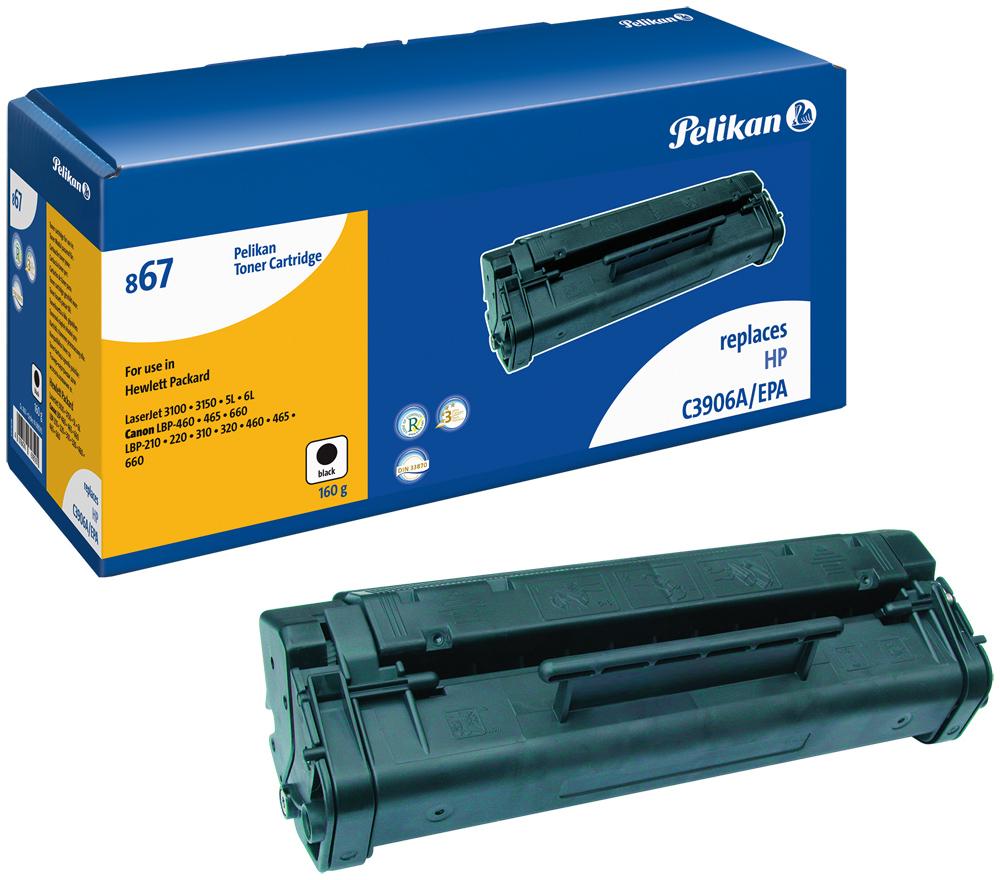 Pelikan Toner 867 komp. zu C3906A HP LaserJet 3100 black