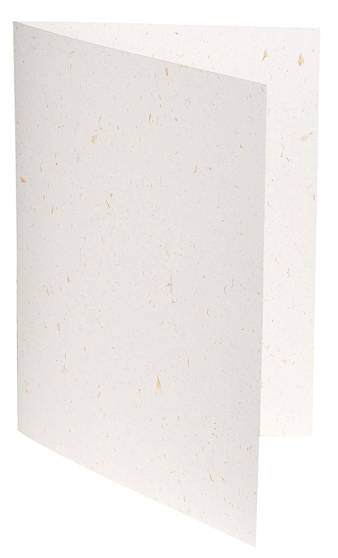 G. LALO Blattgoldpapier Doppelkarte 200 g/m² 107 x 152mm C6 mit Falz 20 Blatt