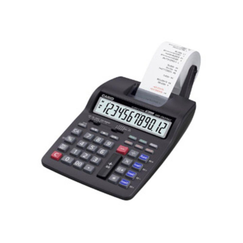 Casio® Tischrechner HR-150TEC, Batteriebet., Netz optional, 165,5 x 285 x67 mm, schwarz