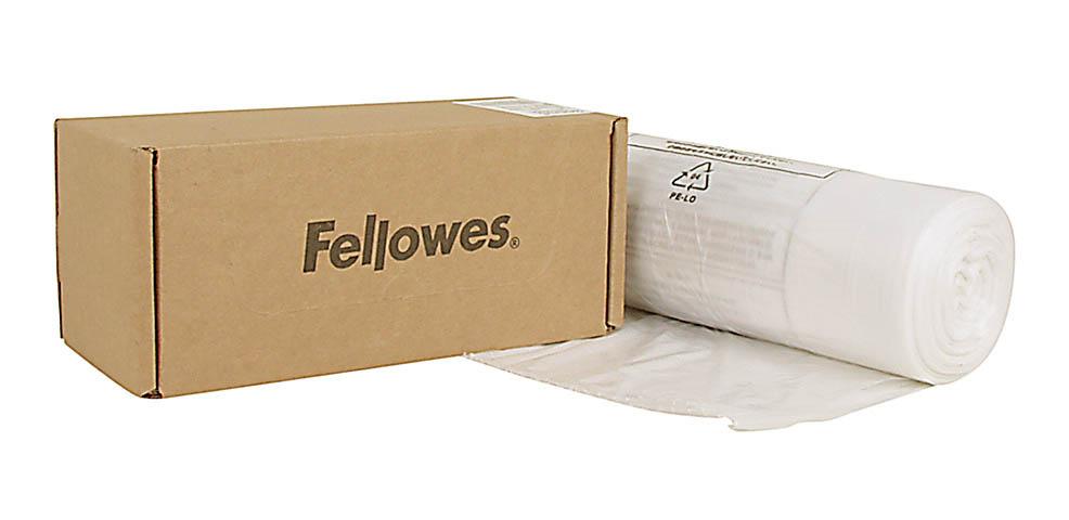 Vorschau: Fellowes 100 St. Abfallsäcke für Aktenvernichter FS5+, P-35C, P-