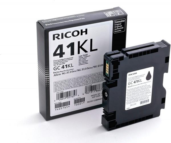 Ricoh 405765 GC41KL Gel Cartridge für Aficio SG2100N, 500 Seiten, schwarz