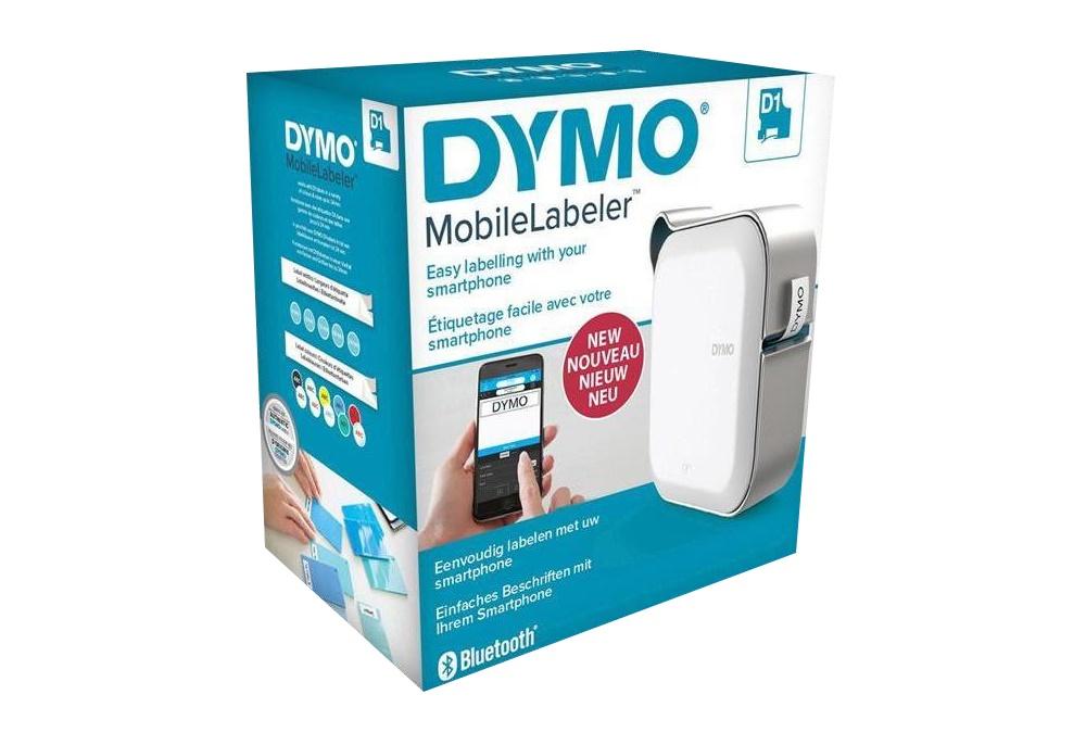 Dymo MobileLabeler + D1 Starter-Etikettenkassette
