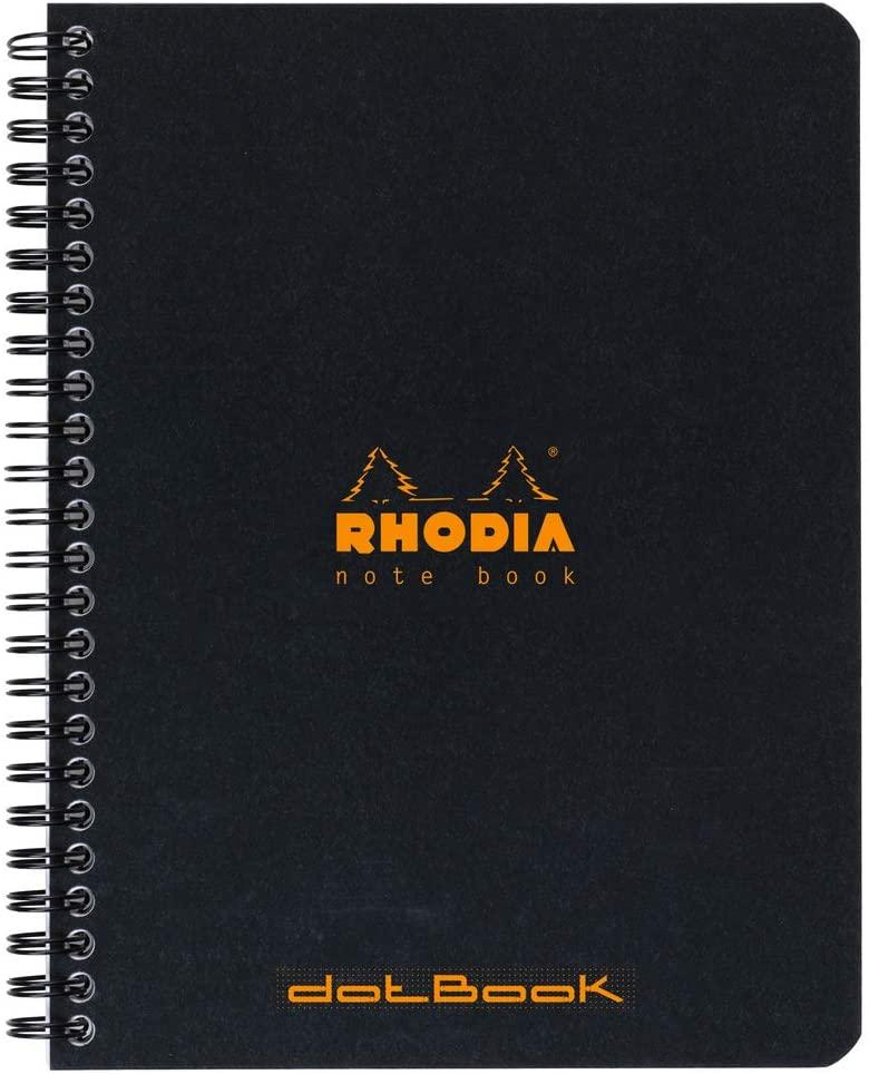 Rhodia 193469C Notizbuch (liniert, ideal für Ihre Notizen, DIN A5, 14,8 x 21 cm, 80 Blatt) 1 Stück s