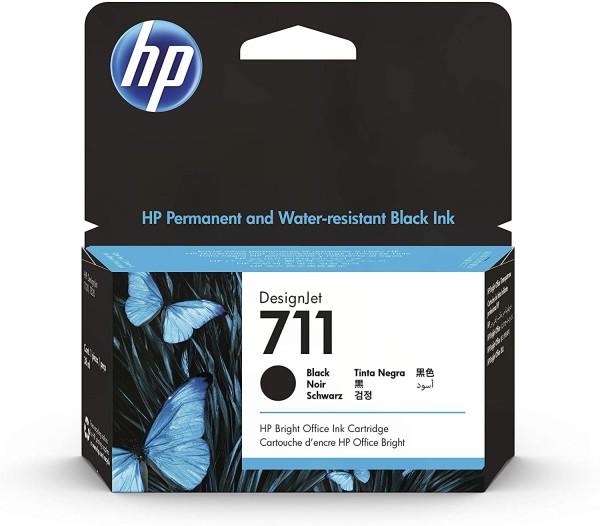 HP Nr. 711 - CZ129A Tintenpatrone für HP DesignJet T120, T125, T130, T520, T525, T530 Großformatplot