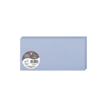Vorschau: Clairefontaine 22539C Packung mit 25 Doppelkarten, gefaltet 210g, in Format DL, 106 x 213mm, Lavende