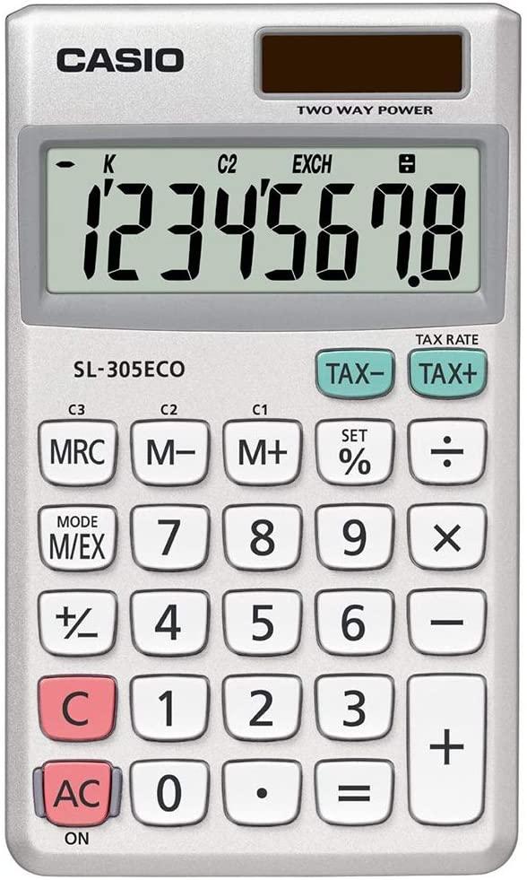 CASIO SL-305 ECO Taschenrechner