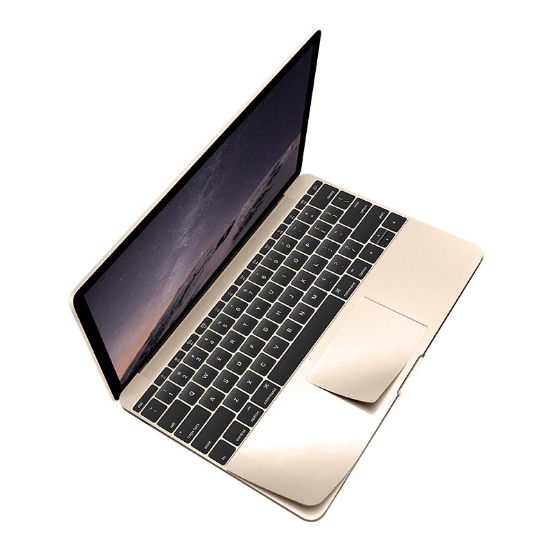 KMP Schutzfolie für Apple 12 Zoll MacBook gold