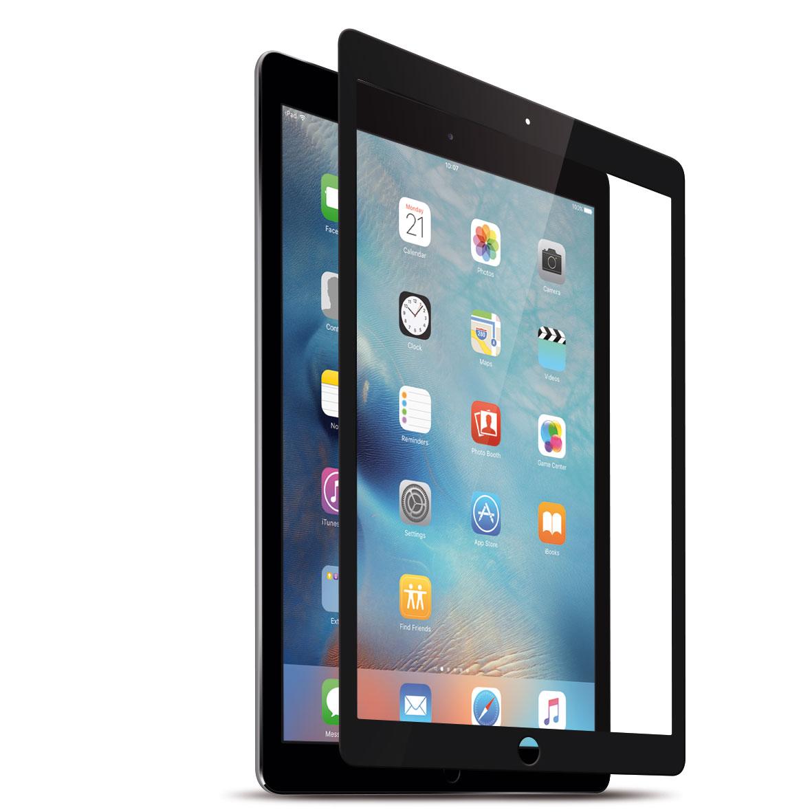 KMP Protective Glass Schutzfolie für iPad Mini 4, schwarz