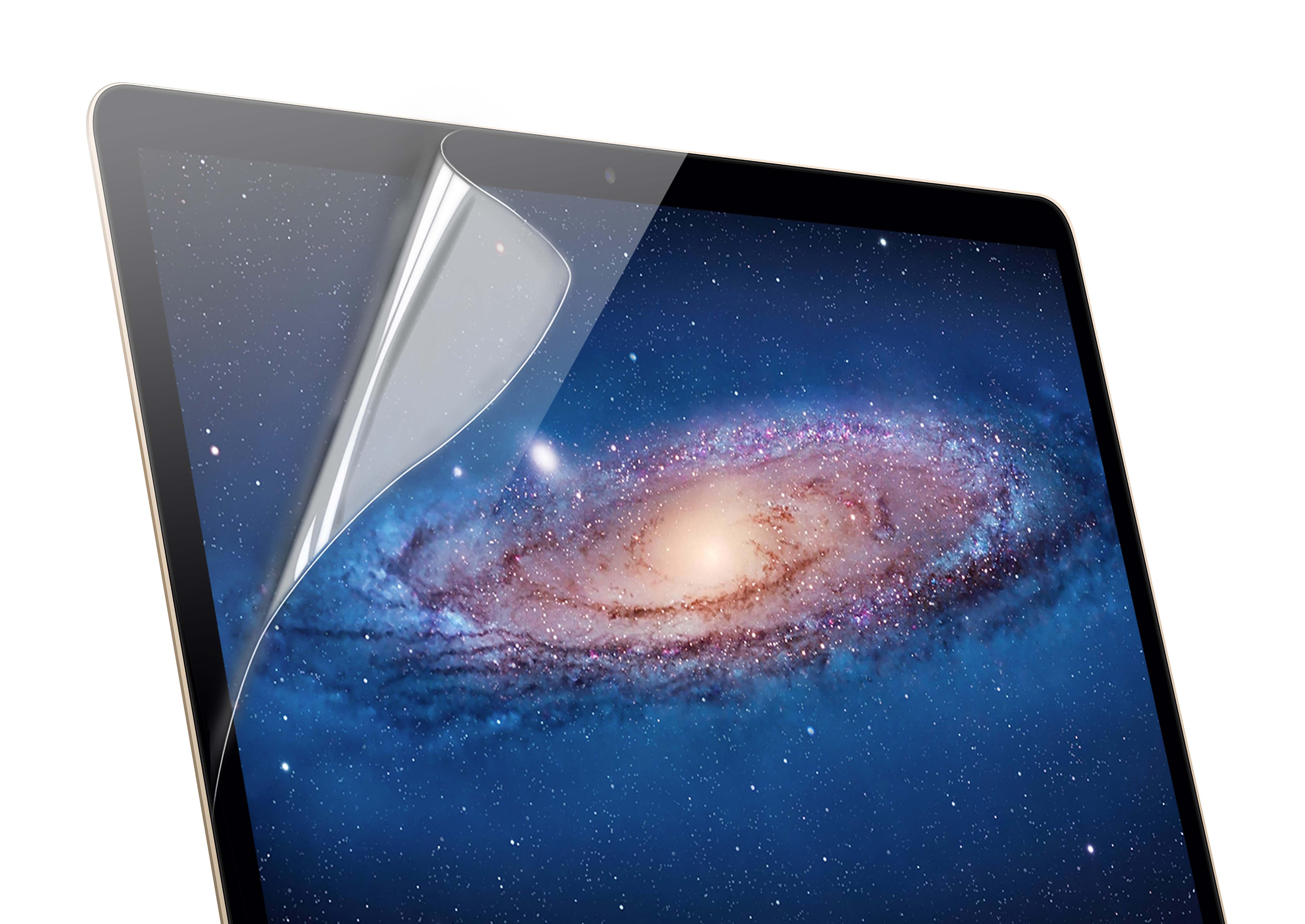 KMP Schutzfolie für Apple 12 Zoll MacBook transparent / clear