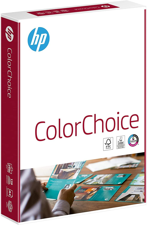 HP Farblaserpapier, Druckerpapier Color-Choice CHP756 – 250 g, DIN-A4, 250 Blatt, extraglatt, hochwe