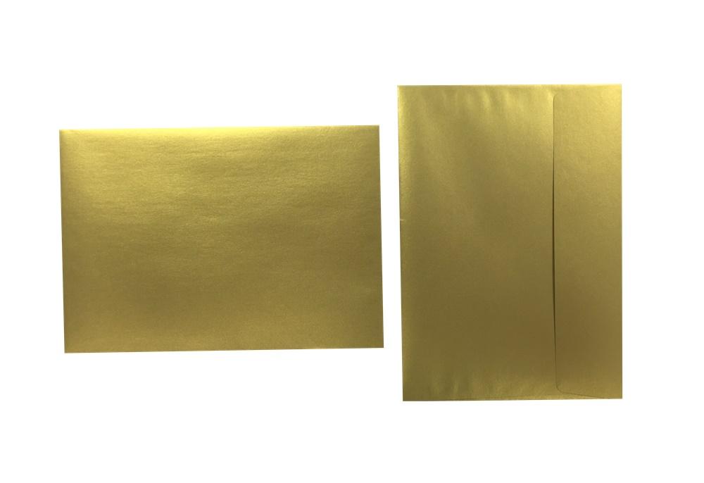 Inapa Shyne Umschläge C5 True Gold 120g/m² 100 Stück