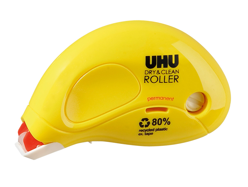 UHU Dry & Clean Roller Kleberoller, permanent