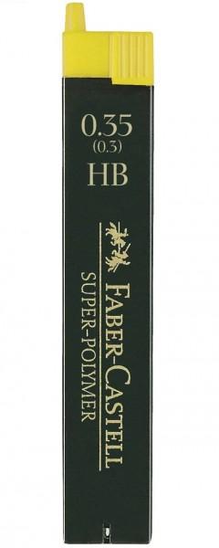 Faber-Castell 120300 Minen für Druckbleistifte 0,35 mm HB