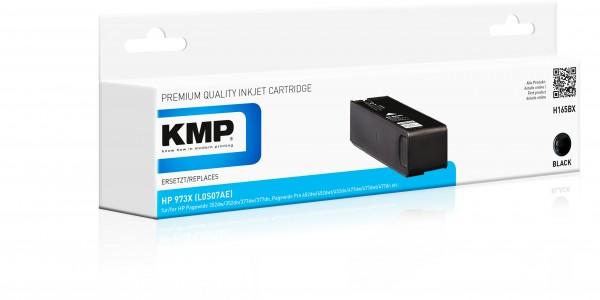 KMP Patrone H165BX für (L0S07AE) HP 973X HP PageWide Pro 450 Series HP PageWide Pro 452 dn etc. bla