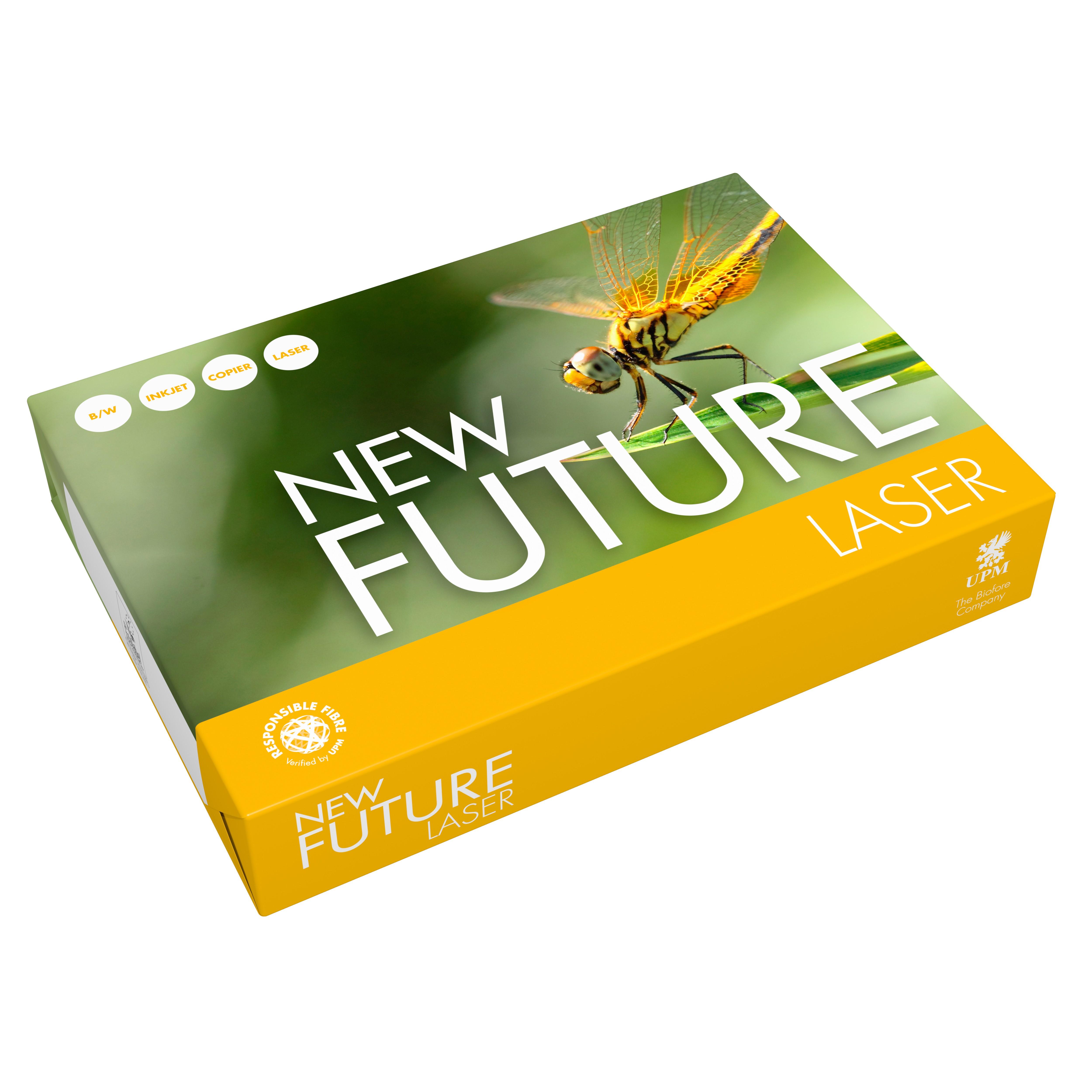 New Future Laser Papier 80g/m² DIN-A5 - 500 Blatt weiß