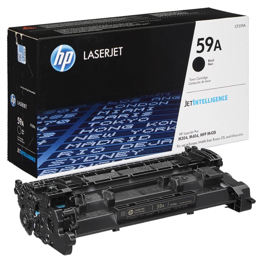 Original HP 59A (CF259A) schwarz Tonerkartusche für LaserJet Pro M404, M428