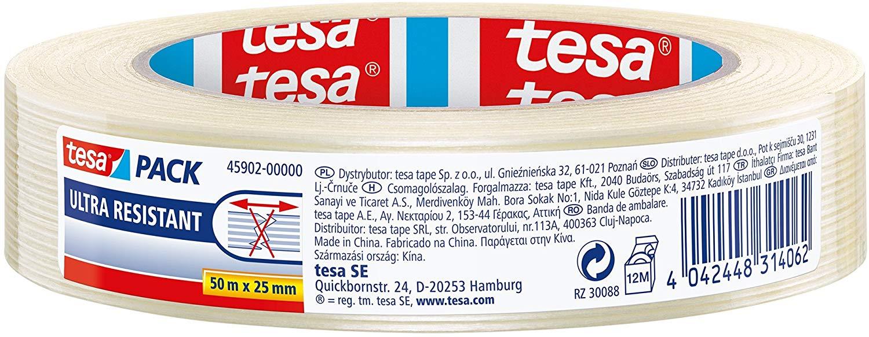 GP: 0,10€/m tesa Ultra Resistant Filamentband, 50m x 25mm