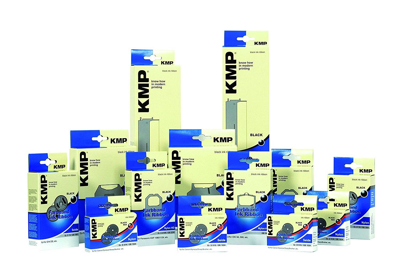KMP-Farbband für OKI ML 390 Flachbett Nylon HD schwarz