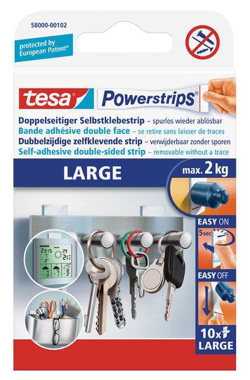 tesa Powerstrips Large, 10 Stk