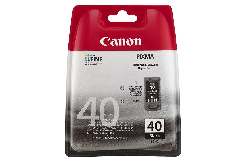Vorschau: Original Canon PG-40 für PIXMA iP1600 2200 MP450 black