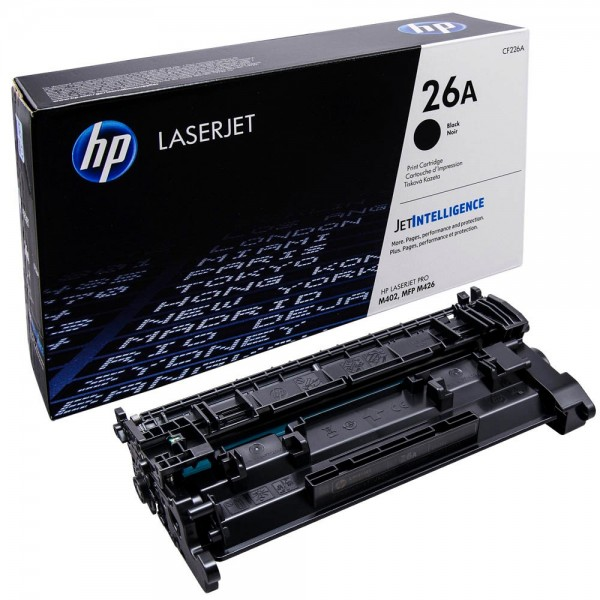 HP 26A - CF226A Schwarz Original Toner für HP Laserjet Pro M402, HP Laserjet Pro M426