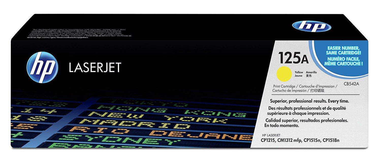 Vorschau: Original HP Toner CB542A für COLOR LASERJET CP1215/1515/1518 yellow