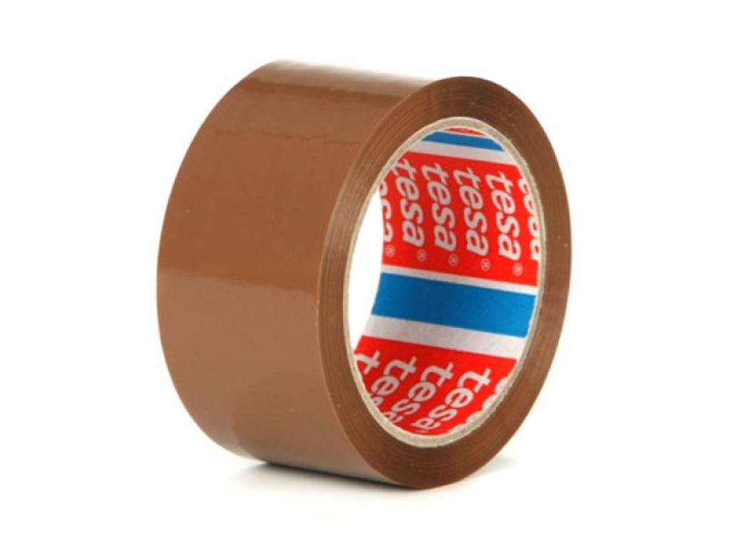 Vorschau: GP: 0,02 EUR/m 6x tesa Verpackungsklebeband 64014 braun 66 m x 55 mm