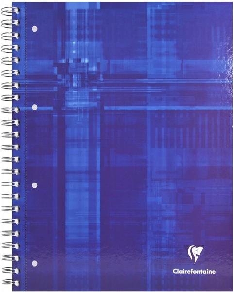 Clairefontaine 82123C Bind´o Block Konferenzblock (mit starkem blauen Deckel, DIN A4+, 22,5 x 29,7 c