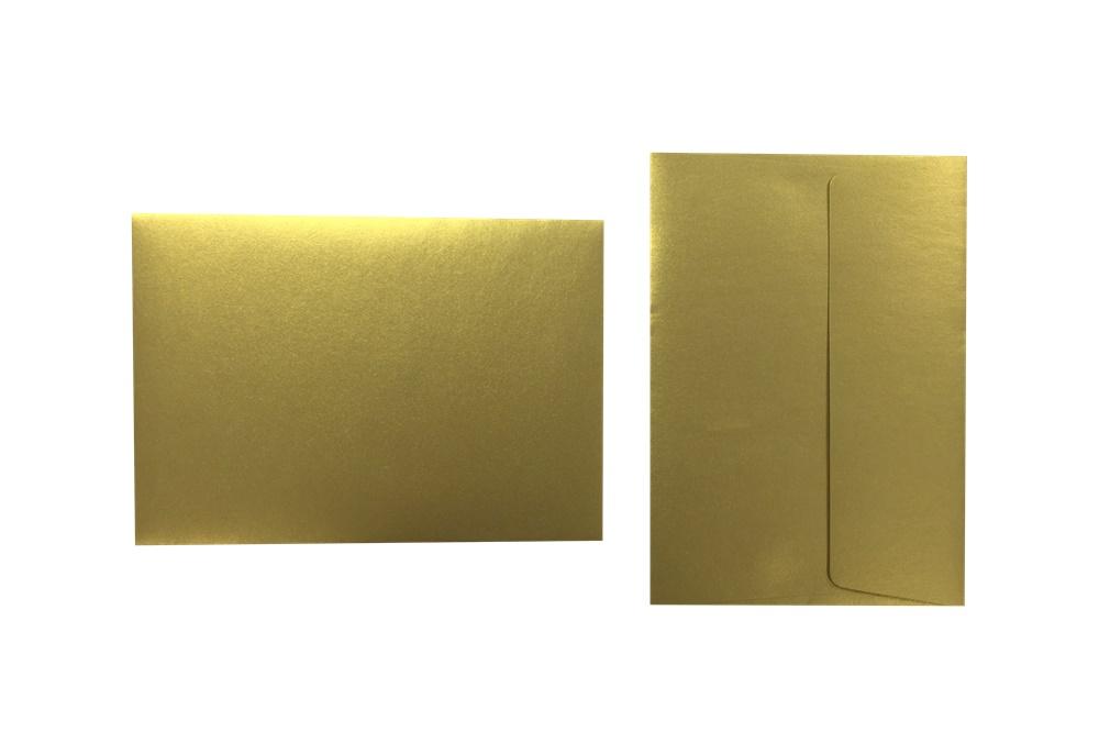 Inapa Shyne Umschläge C6 True Gold 120g/m² 100 Stück
