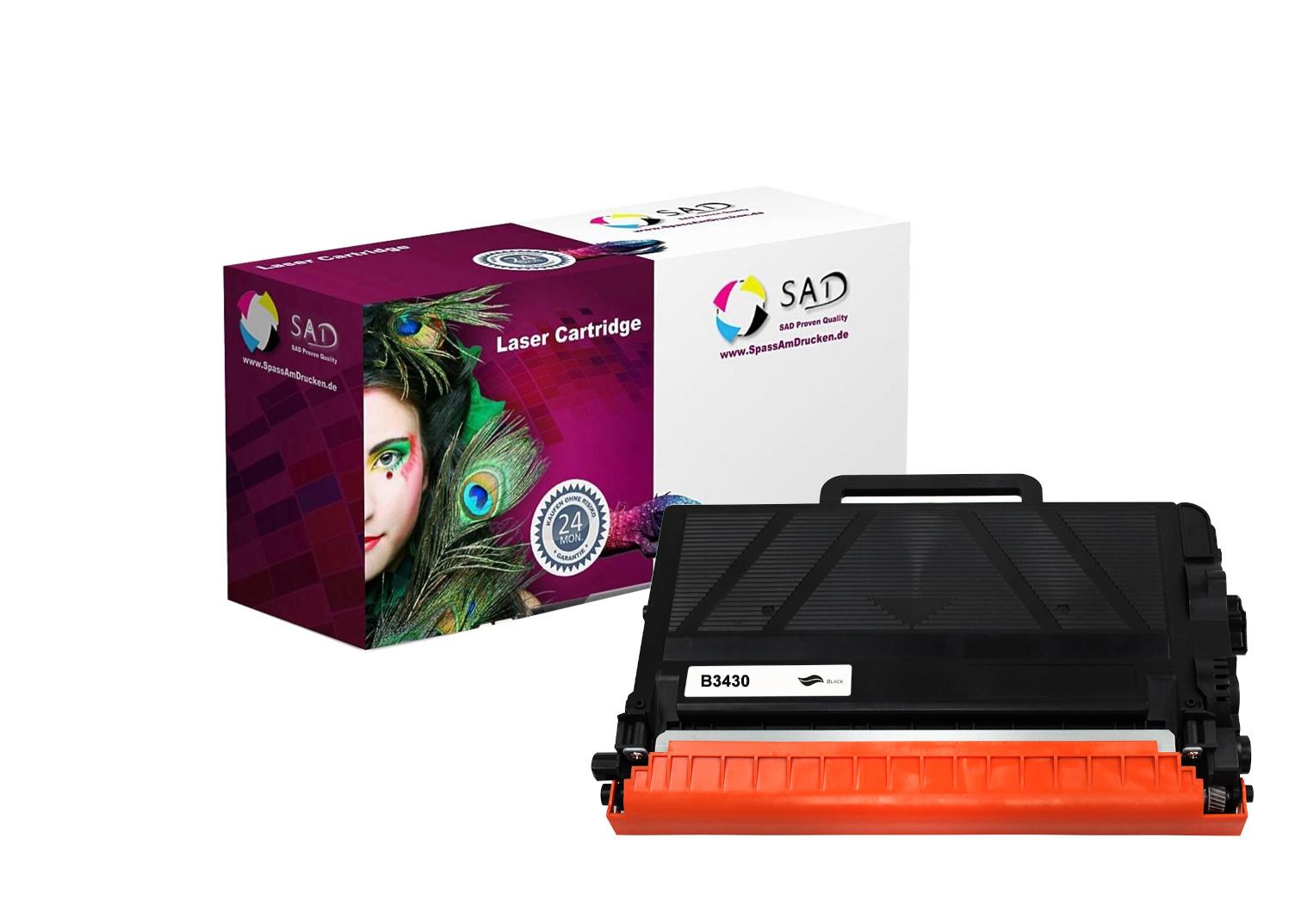 SAD Premium Toner komp. zu Brother TN-3430 schwarz / black