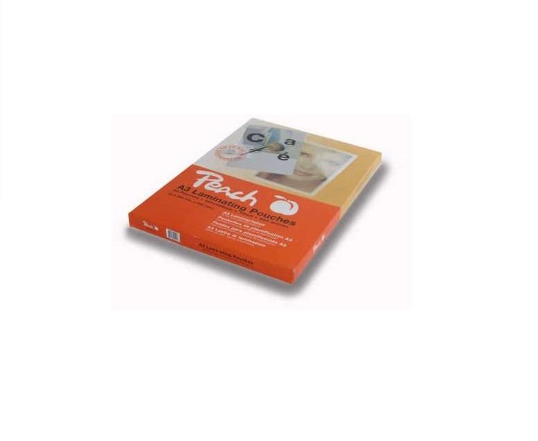 Peach PP550-02 Laminierfolien DIN A4, 250 mic, glänzend, 100 Stück