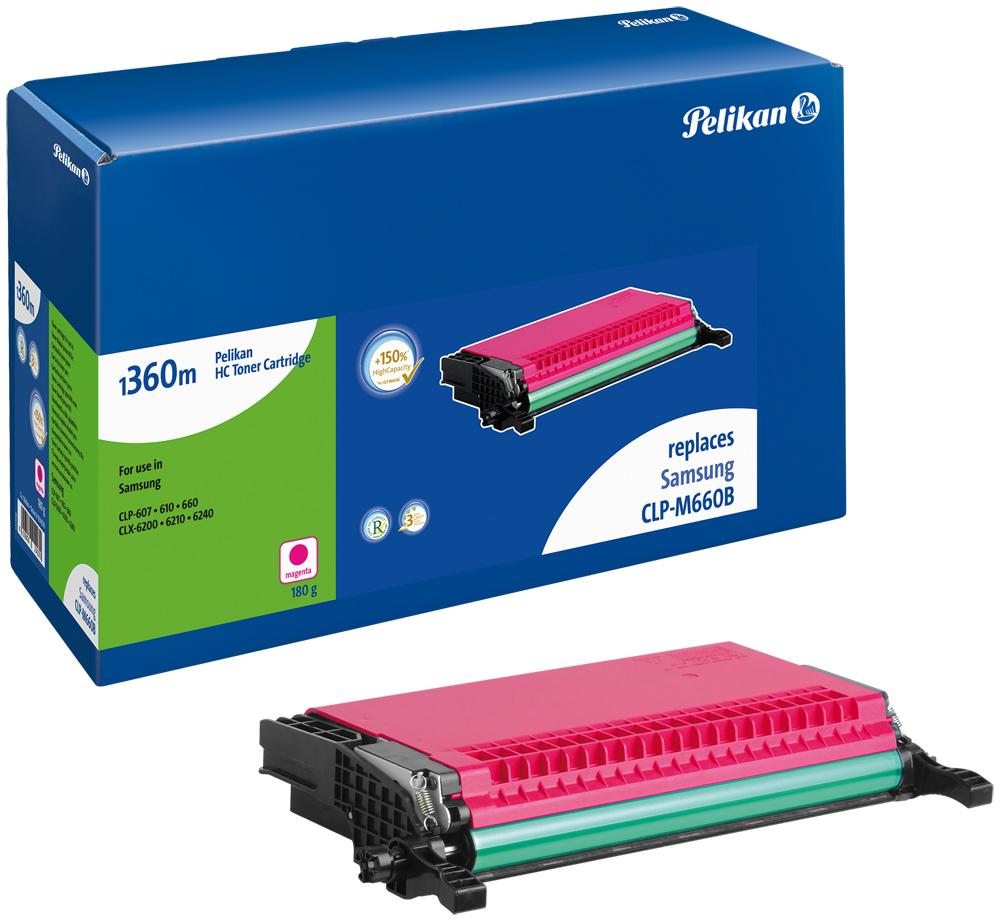 Pelikan Toner 1360m für CLP-M660B CLP-610 etc. magenta