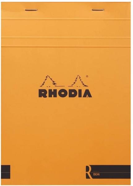 Rhodia 162011C Notizblock (DIN A5, 14,8 x 21 cm, liniert, 70 Blatt, praktisch und belastbar) 1 Stück