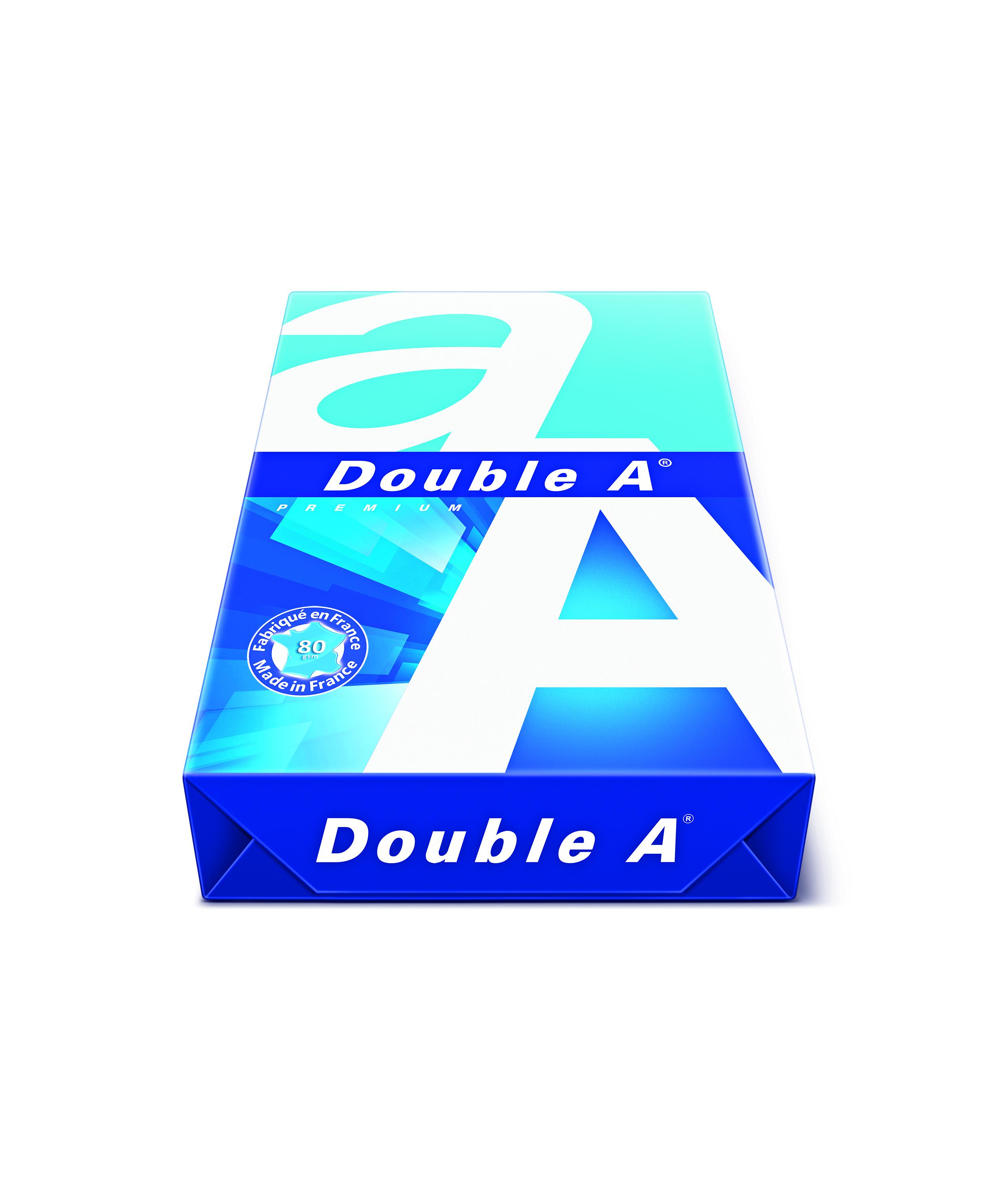 Vorschau: Double A Premium Papier 80g/m² DIN-A4 weiß 500 Blatt